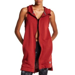 Nike Sleeveless Modern Hoodie Long Vest. NWT